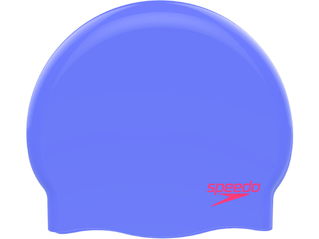 speedo Plain Moulded Siliconen Badmuts Kinderen, purple/red